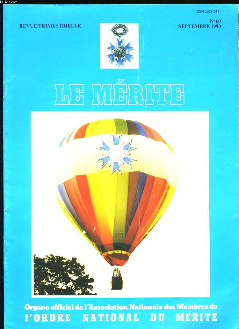 LE MERITE N° 60.