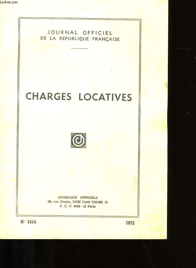 Charges locatives n 1414 collectif - Charges locatives abusives ...