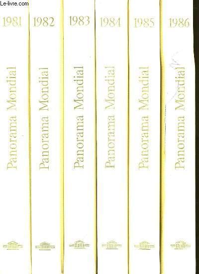 PANORAMA MONDIAL. EN 11 TOMES. DE 1981 A 1991.