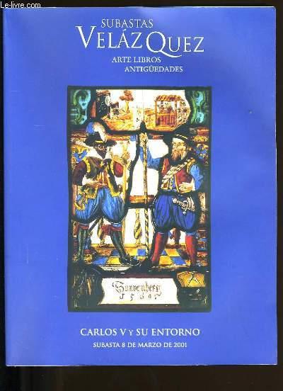 CATALOGUE DE LIVRES. SUBASTAS VELAZQUEZ. ARTE LIBROS ANTIGUEDADES.