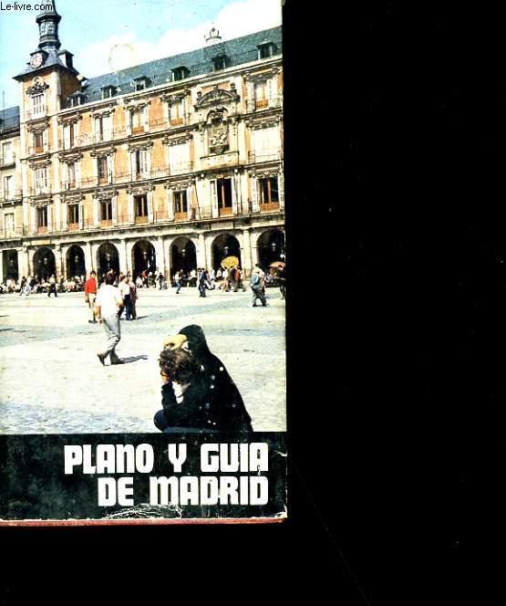 PLANO Y GUIA DE MADRID.