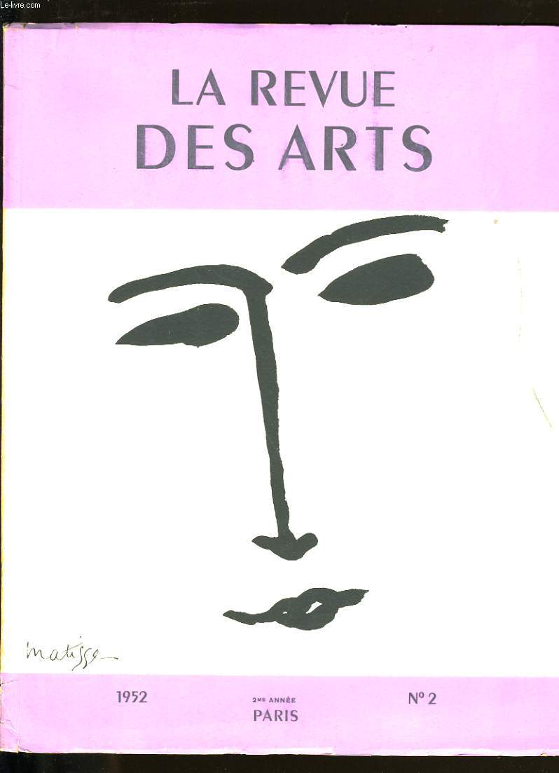 LA REVUE DES ARTS N°2.