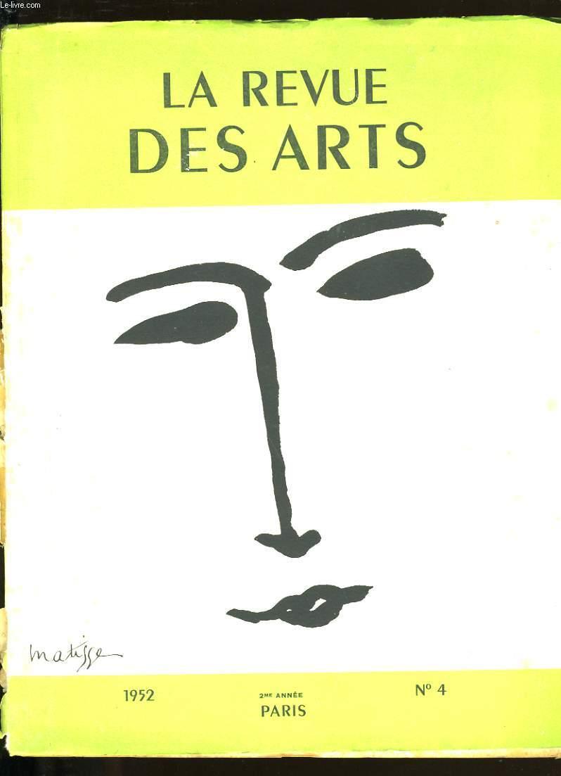 LA REVUE DES ARTS N°4.