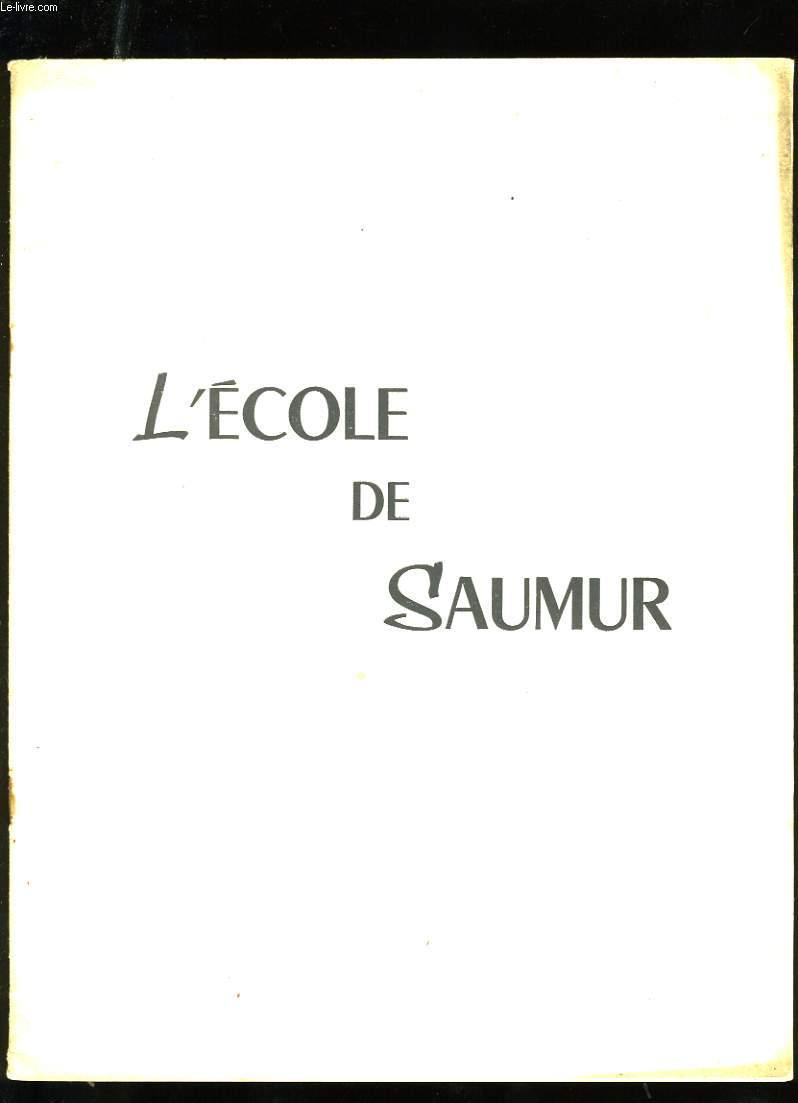 L'ECOLE DE SAUMUR.