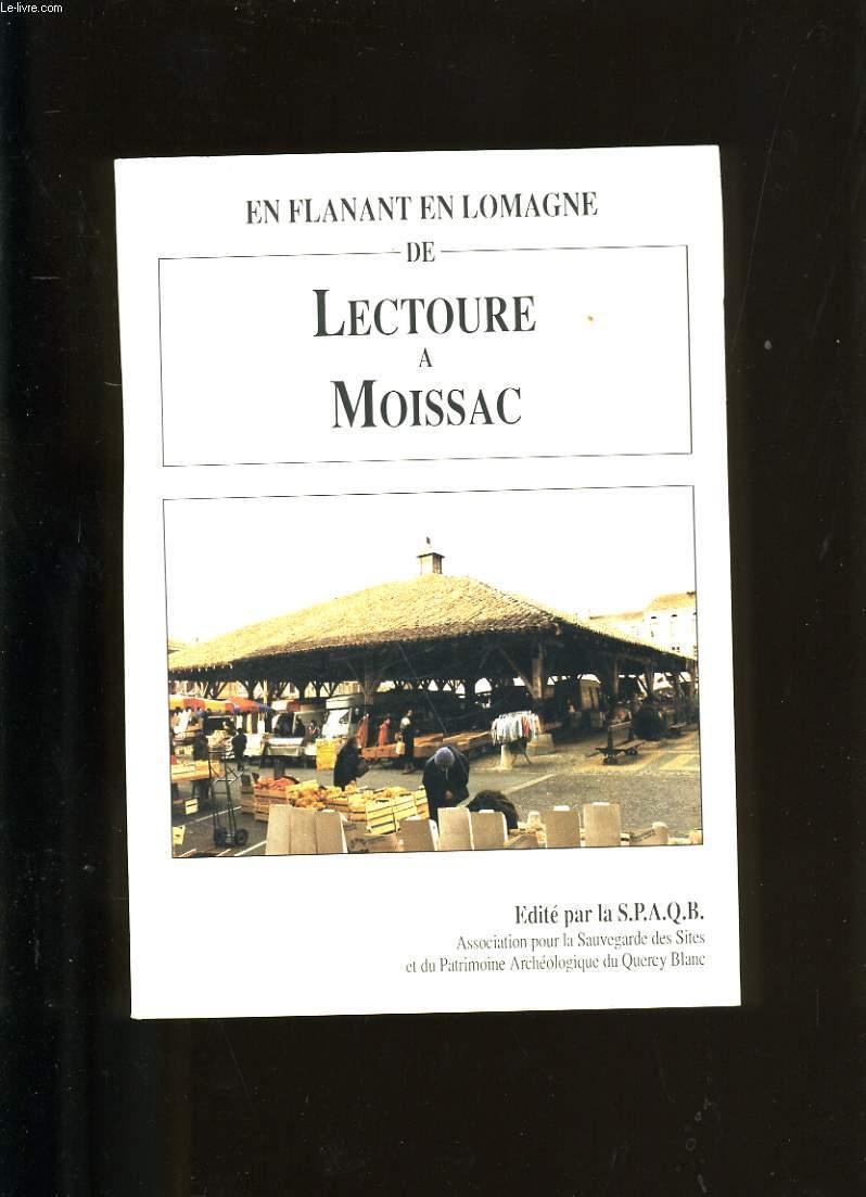 EN FLANANT EN LOMAGNE DE LECTOURE A MOISSAC.