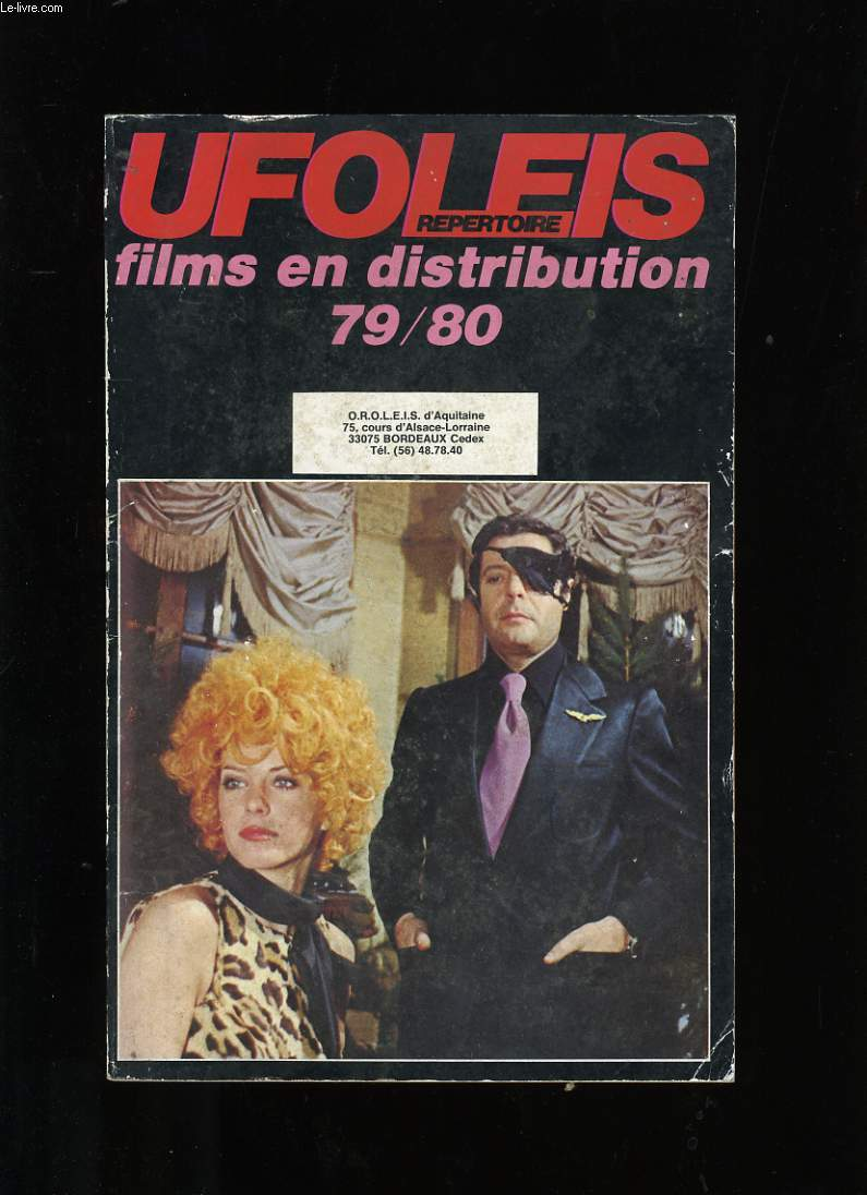 REPERTOIRE UFOLEIS. FILMS EN DISTRIBUTION 79/80.