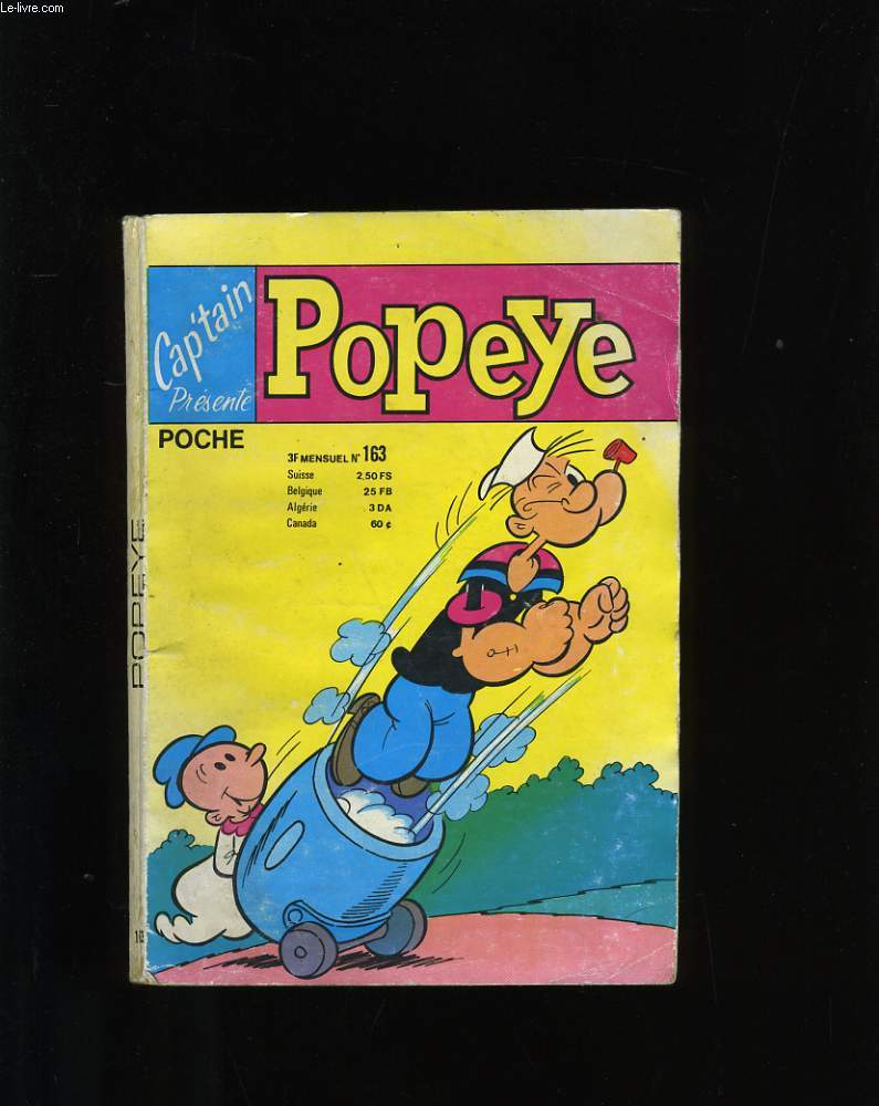 CAPTAIN N° 163. POPEYE.