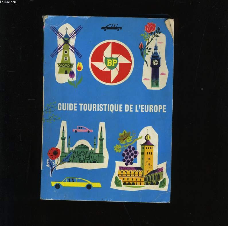 GUIDE TOURISTIQUE DE L'EUROPE.