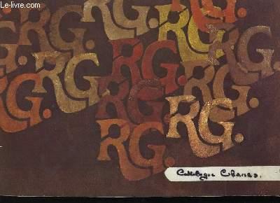 CATALOGUE DE CHAISES. ROGER CESTAS.