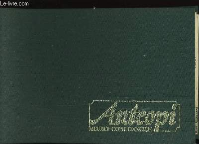 CATALOGUE DE MEUBLES - COPIE D'ANCIEN ARTCOPI.