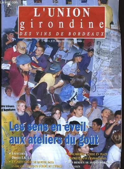 L'UNION GIRONDINE DES VINS DE BORDEAUX N° 958.