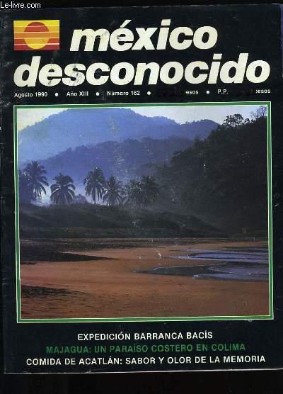 MEXICO DESCONOCIDO N° 162.