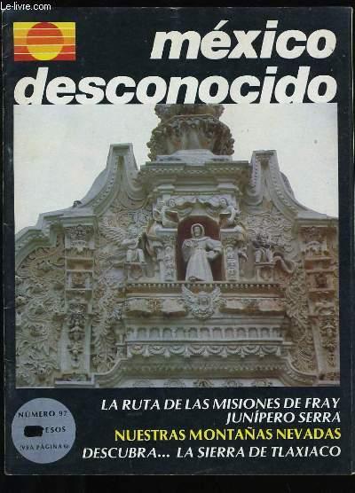 MEXICO DESCONOCIDO N° 97.