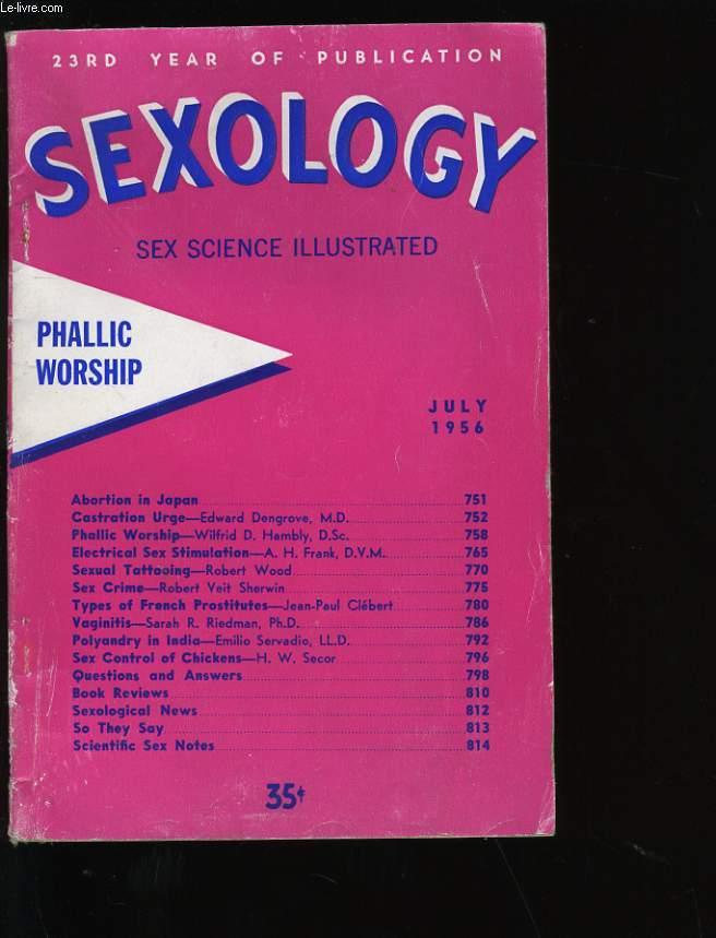 SEXOLOGY.