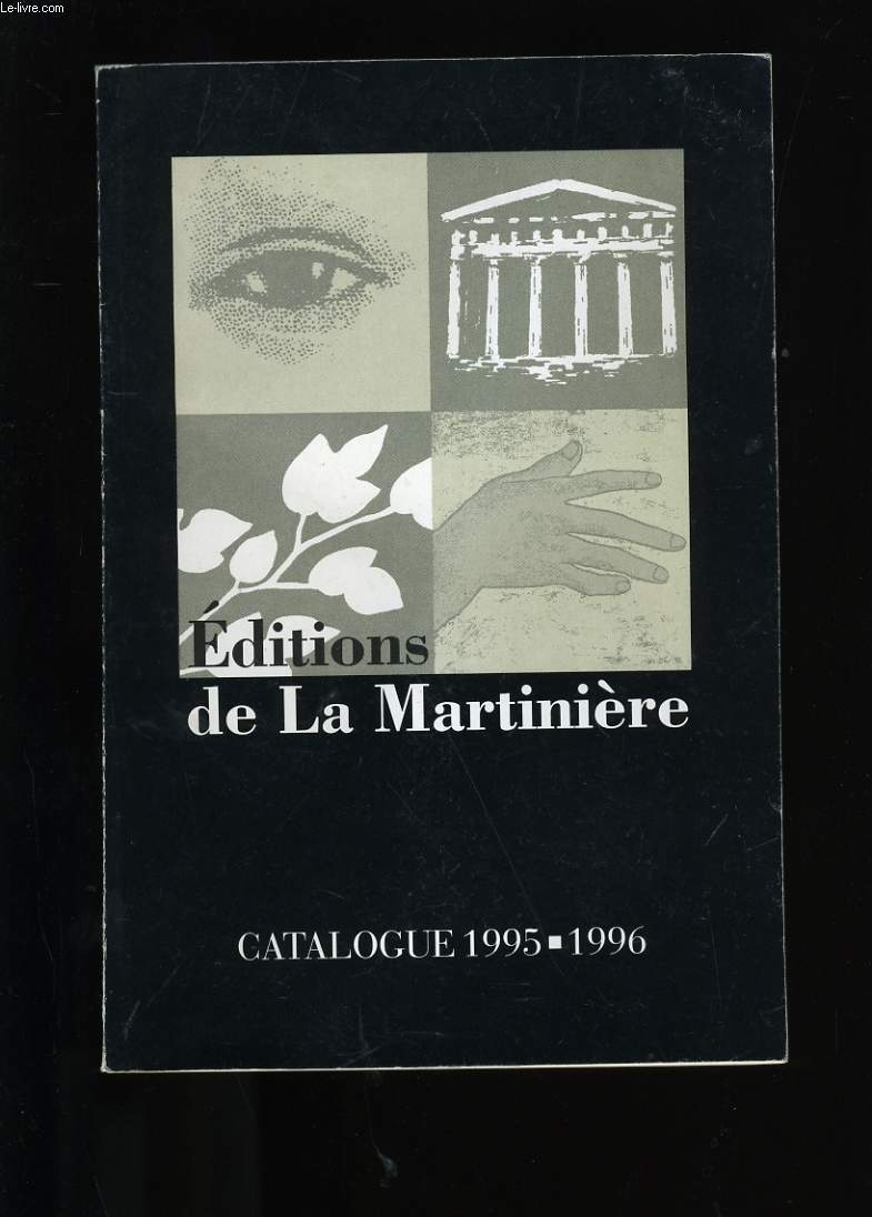 CATALOGUE DE LIVRES. EDITIONS DE LA MARTINIERE.