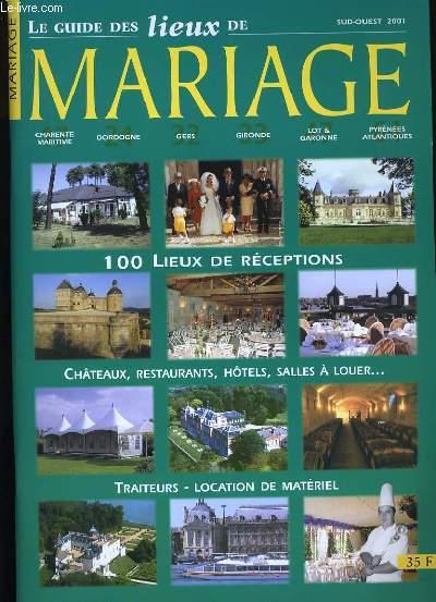 LE GUIDE DES LIEUX DE MARIAGE.