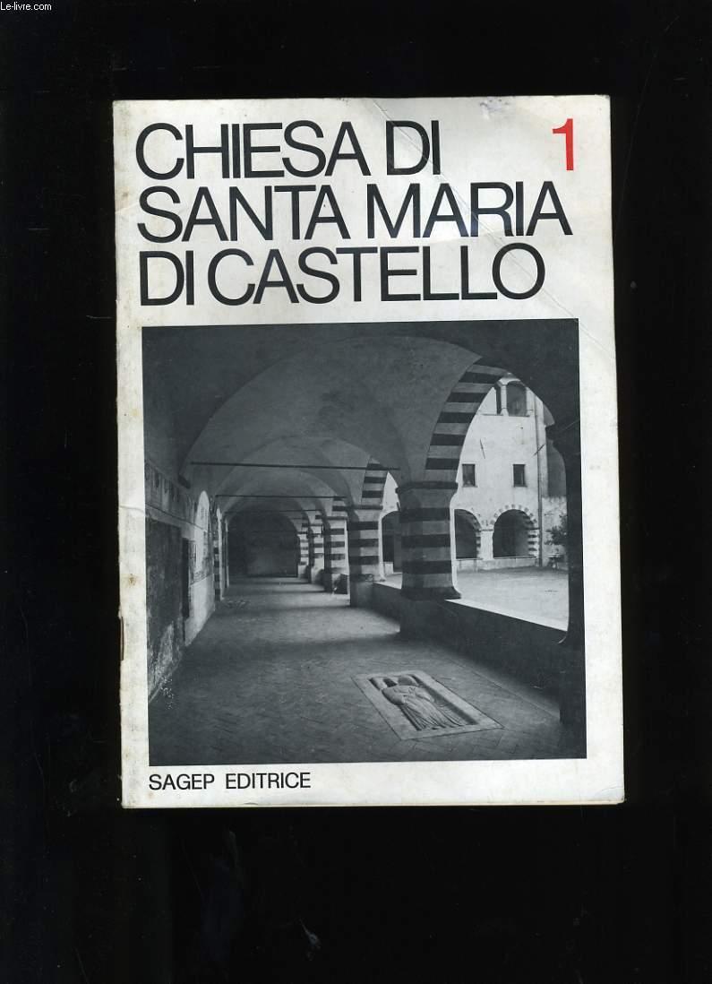 CHIESA DI SANTA MARIA DI CASTELLO N°1.
