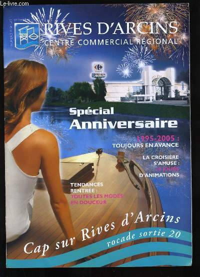 RIVES D'ARCINS. CENTRE COMMERCIAL REGIONAL.