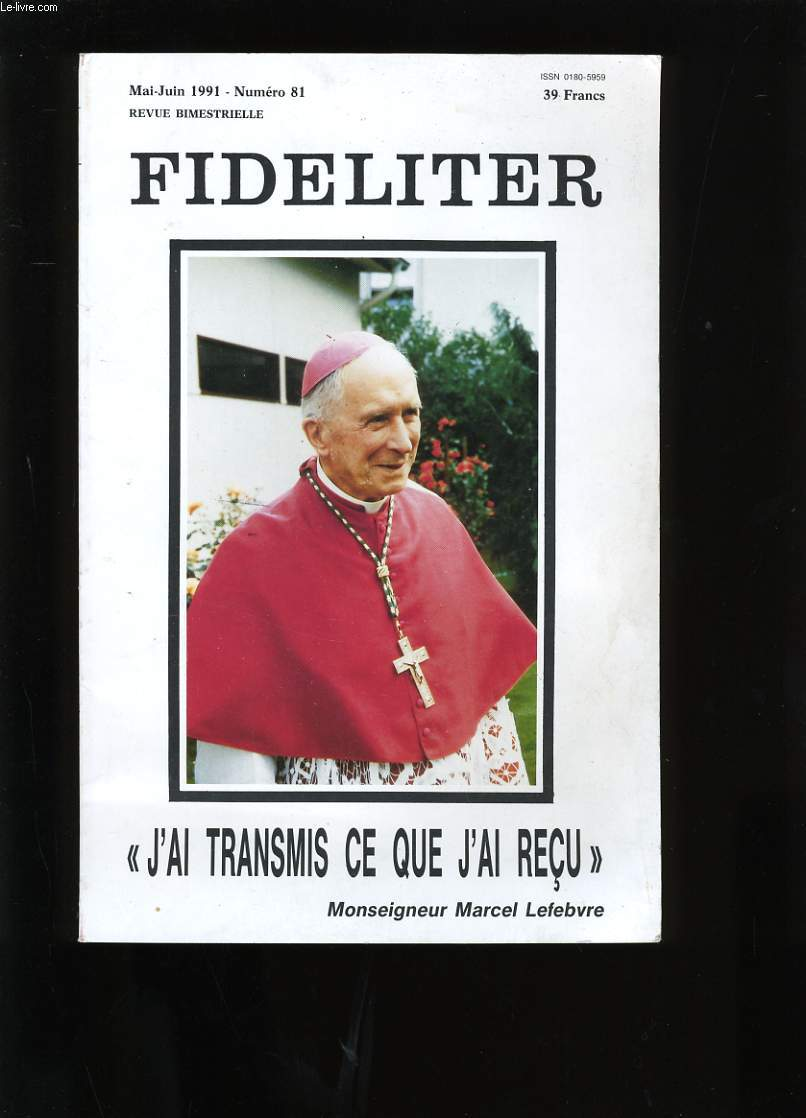 FIDELITER. N°81.
