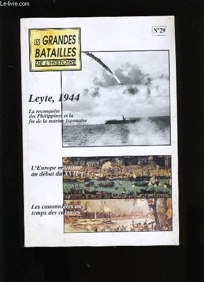 LES GRANDES BATAILLES DE L'HISTOIRE. N° 29.
