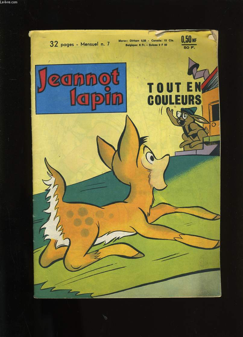 JEANNOT LAPIN N° 7.