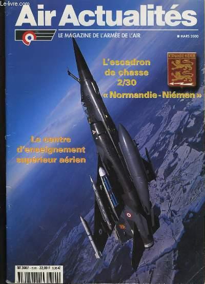 AIR ACTUALITES. LE MAGAZINE DE L'ARMEE DE L'AIR.