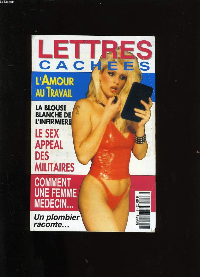 LETTRES CACHEES.