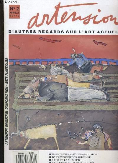 ARTENSION N°2. D'AUTRES REGARDS SUR L'ART ACTUEL.