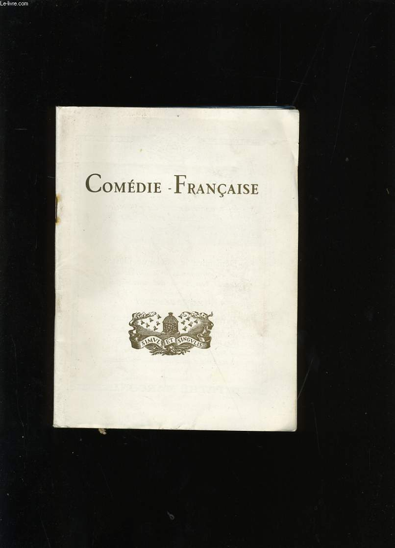 COMEDIE-FRANCAISE.