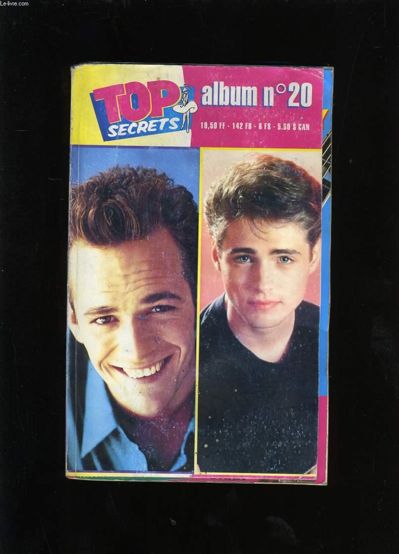 TOP SECRETS ALBUM  N° 20. TOP SECRET N° 74 - 77- 82.