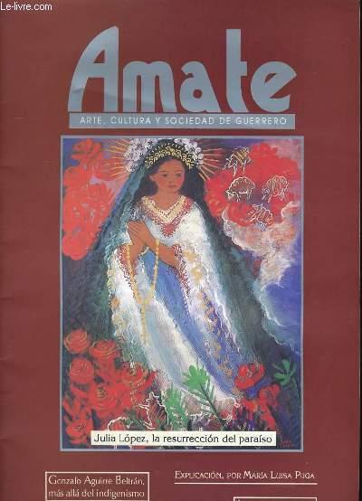 AMATE N° 2. ARTE, CULTURA Y SOCIEDAD DE GUERRERO.