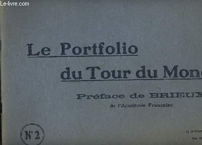 LE PORTFOLIO DU TOUR DU MONDE N°2.