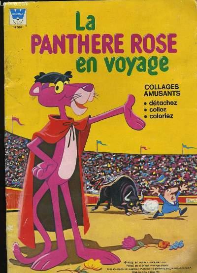 LA PANTHERE ROSE EN VOYAGE.