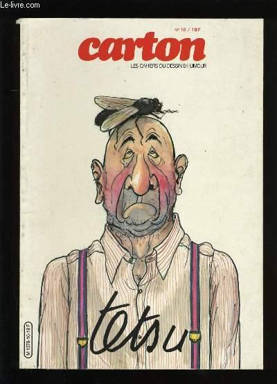 CARTON N°10. LES CAHIERS DU DESSIN D'HUMOUR. TESTU.