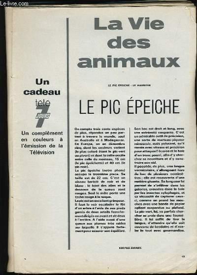 LA VIE DES ANIMAUX.