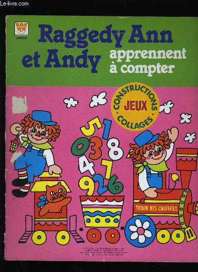 RAGGEDY ANN ET ANDY APPRENENT A COMPTER.