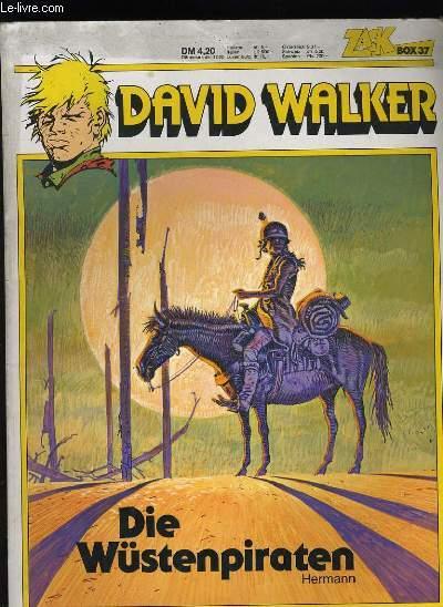 DAVID WALKER. DIE WUSTENPIRATEN. ZACK BOX 37.