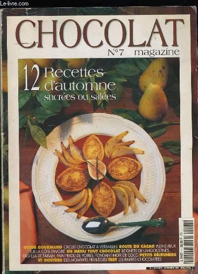 CHOCOLAT MAGAZINE N° 7.