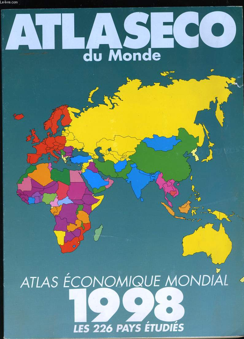 ATLASECO. ATLAS ECONOMIQUE MONDIAL. 226 PAYS ETUDIES.
