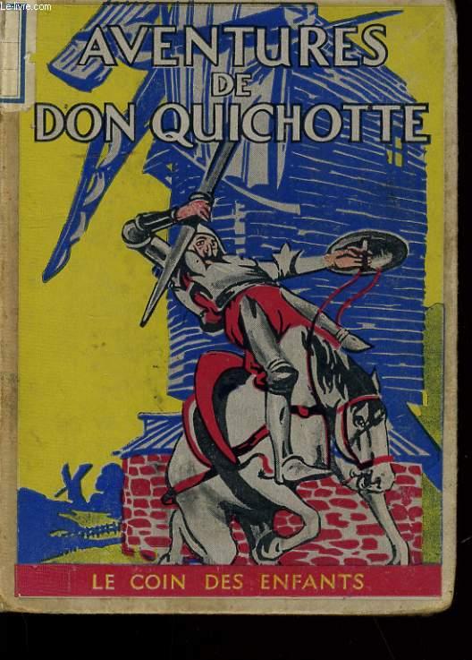 AVENTURES DE DON QUICHOTTE.