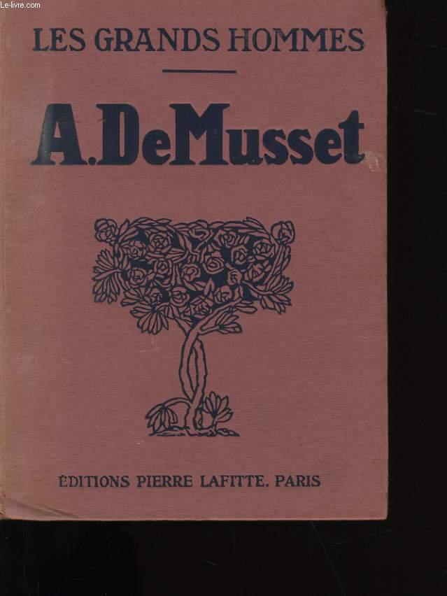 A. DE MUSSET.