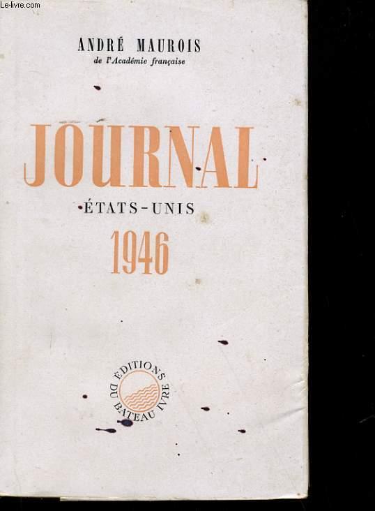 JOURNAL ETAT-UNIS 1946.