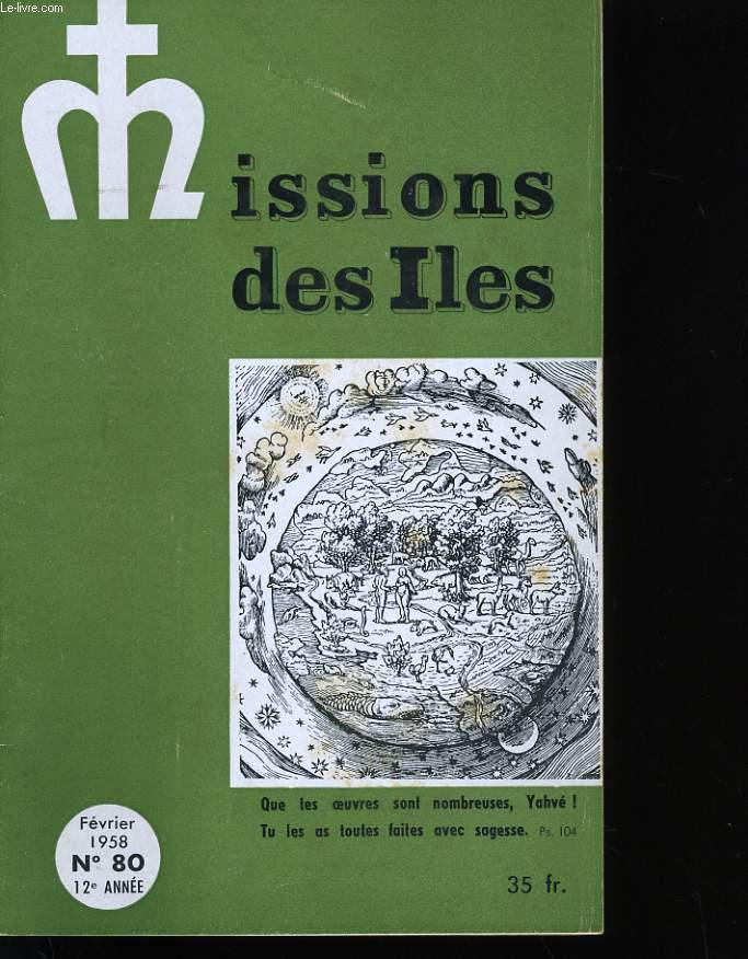 MISSIONS DES ILES N° 80. OCEANIE.