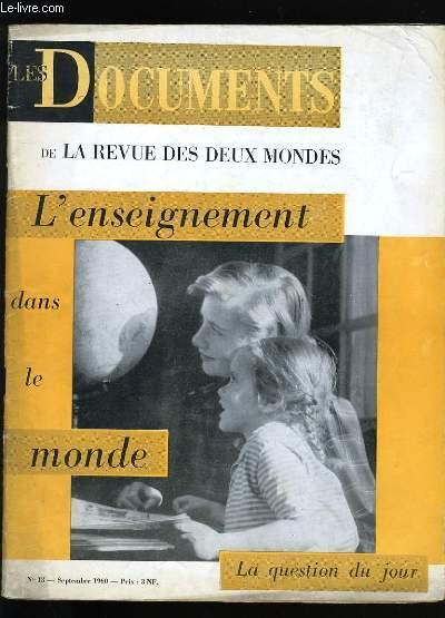LES DOCUMENTS DE LA REVUE DES DEUX MONDES. N° 13.