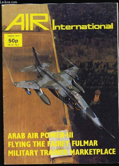 AIR INTERNATIONAL. VOL 13. N°2.