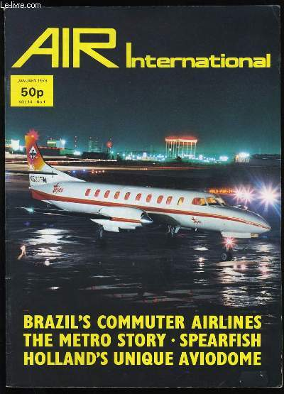 AIR INTERNATIONAL. VOL 13. N°1.