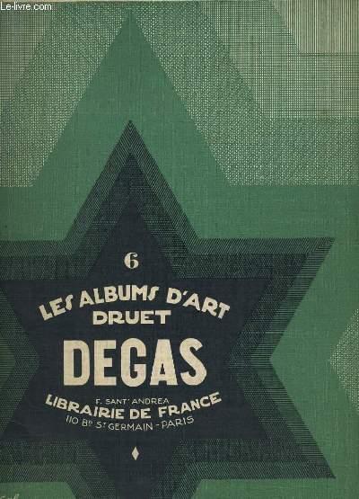 LES ALBUMS D'ART DRUET. VI. DEGAS.