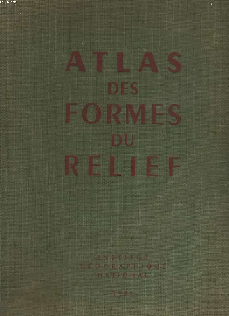 ATLAS DES FORMES DU RELIEF.
