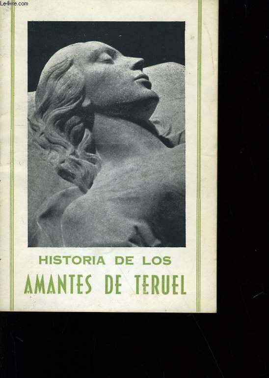 HISTORIA DE LOS AMANTES DE TERUEL.