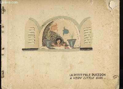 LA PETITE FILLE PUCERON. A VERY LITTLE GIRL.